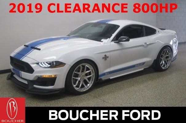 Gordie Boucher Ford >> 2019 Ford Mustang GT Premium SHELBY SUPER SNAKE in Menomonee Falls, WI | Milwaukee Ford Mustang ...